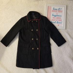 baby gap black coat